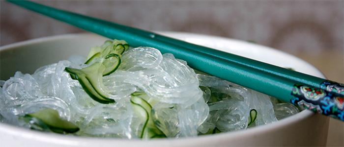 Salada de harussame com pepino | Mikami Produtos Orientais