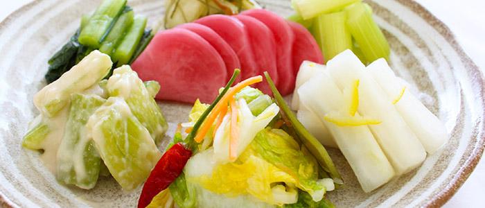 Tsukemono – Verduras e legumes em conserva