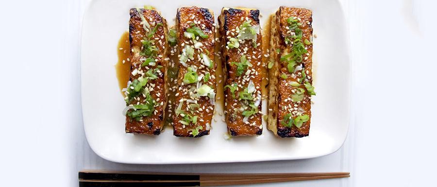 Receita de tofu dengaku